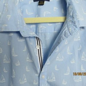 Club Room Sailboats Shirt XXL